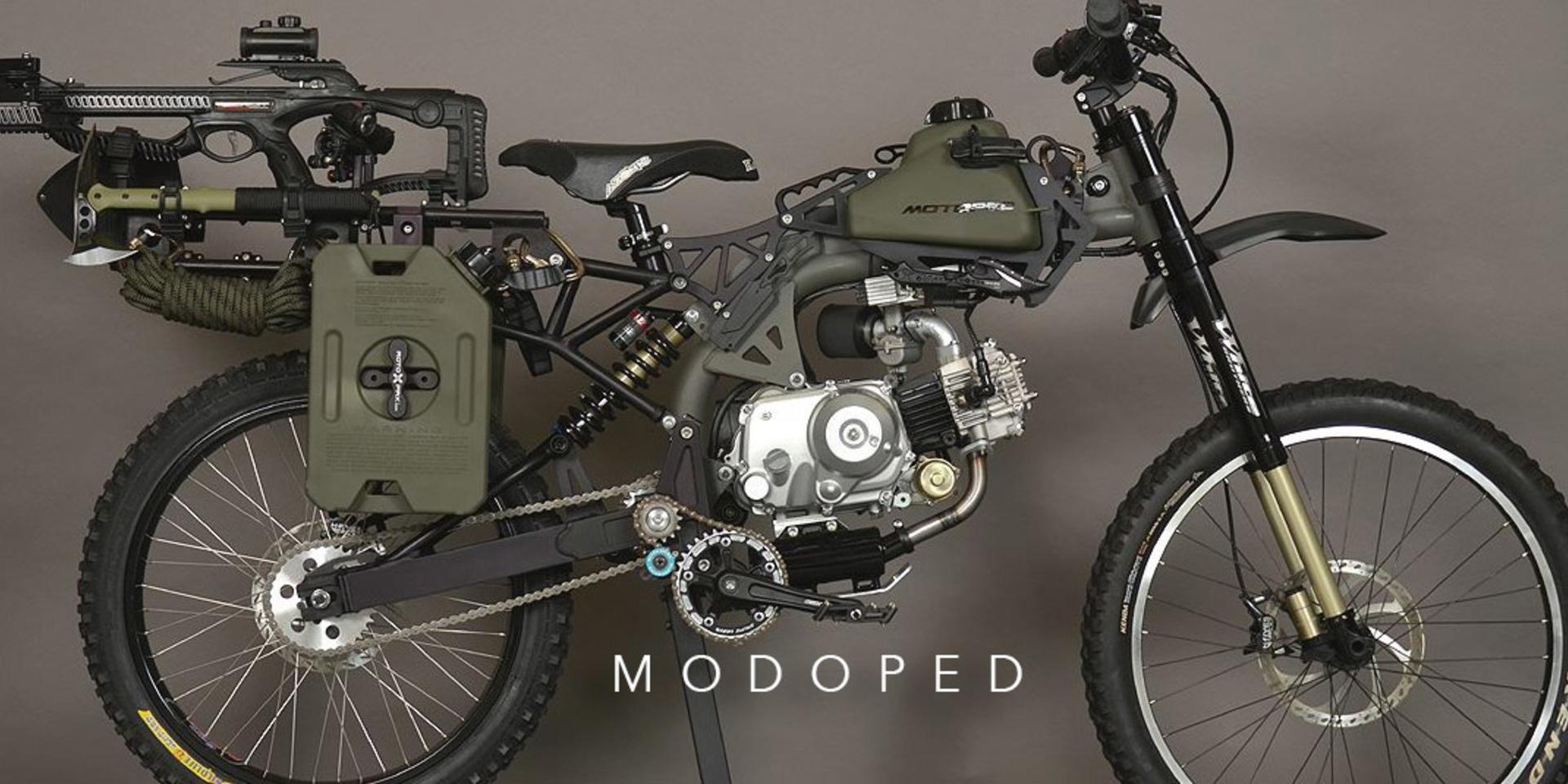 移動力與風格的大升級。Motoped腳踏車動力套件