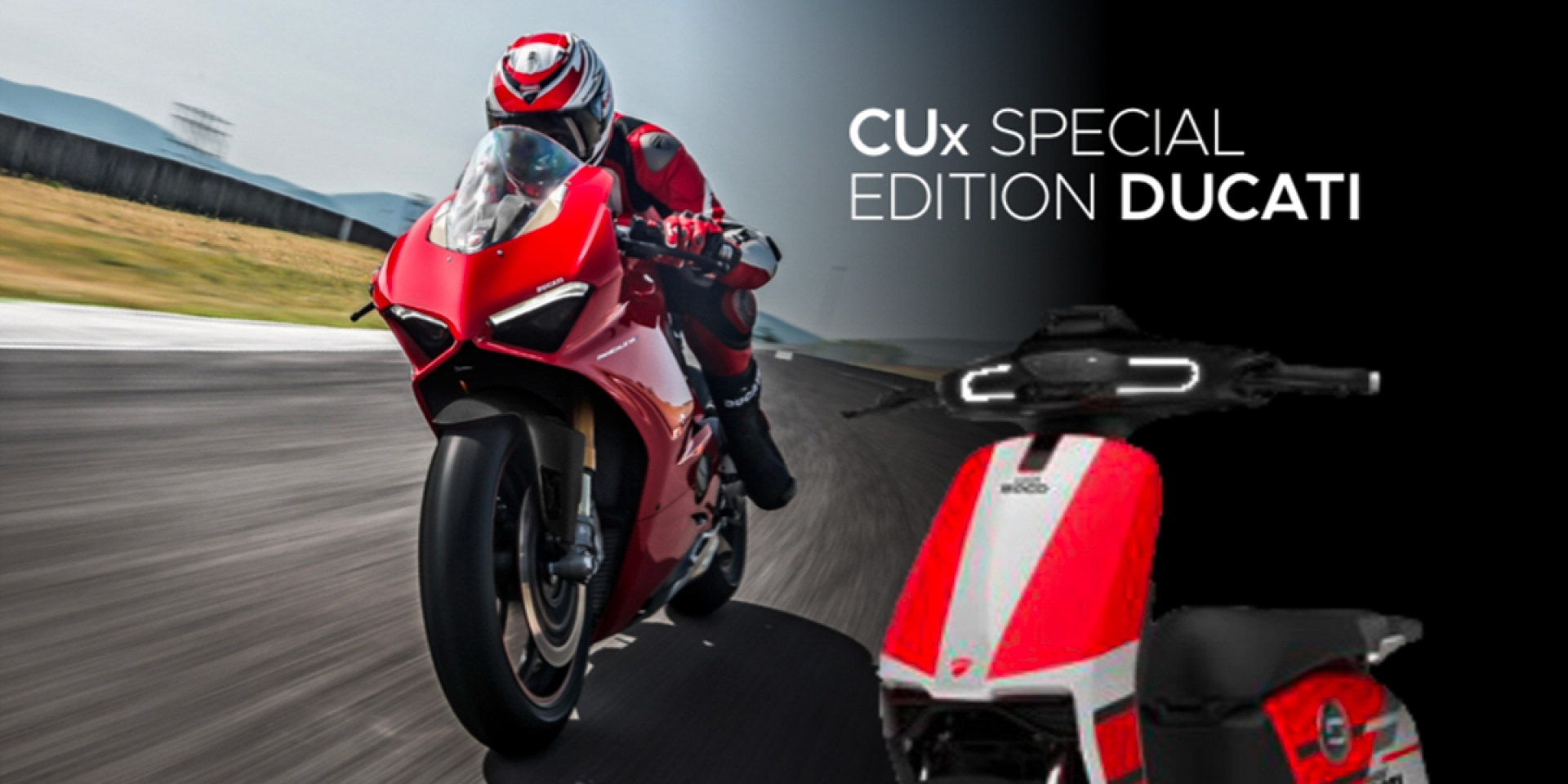 Ducati電動車?SuperSoco CUx Special Edition Ducati