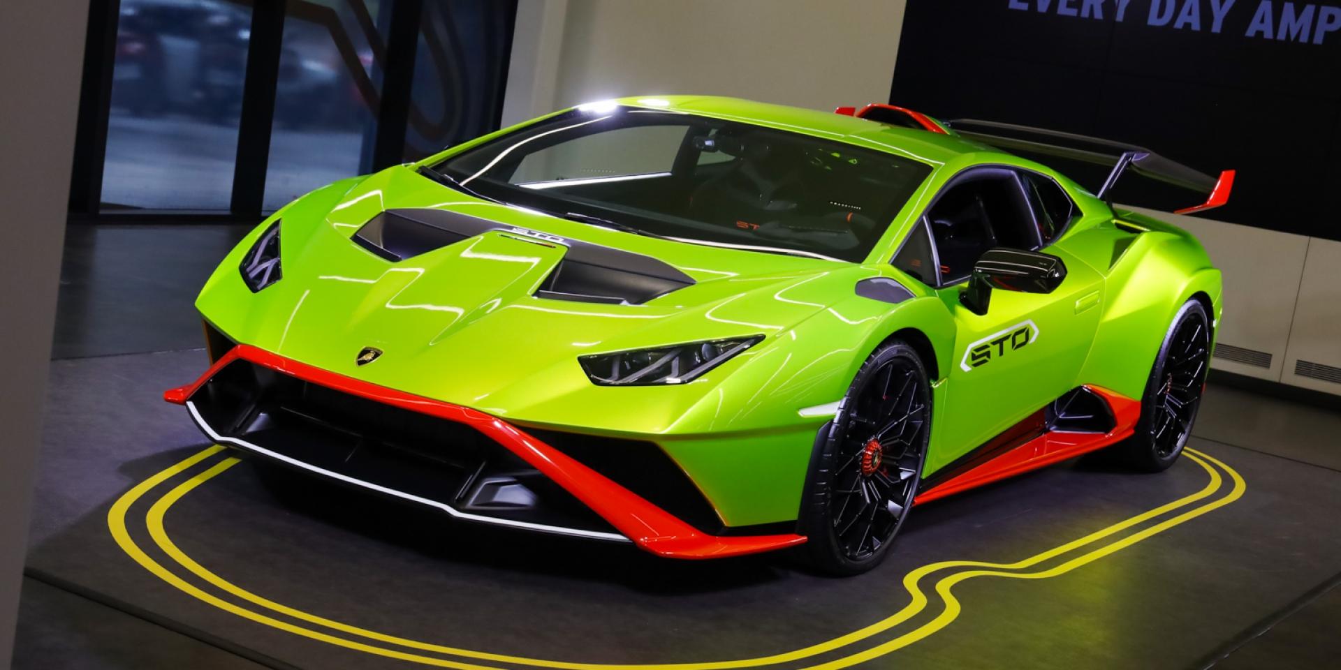 用賽車改裝而成的道路用車!Lamborghini Huracán STO在台發表!