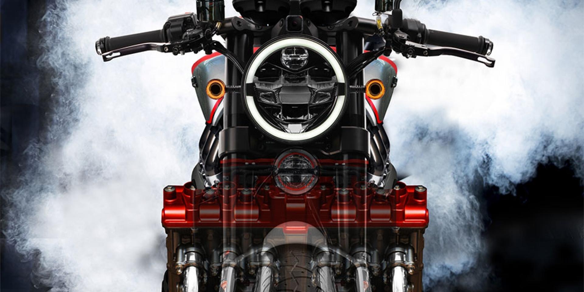 可以,這很6!HONDA將於2019年復活六缸霸主CBX900??