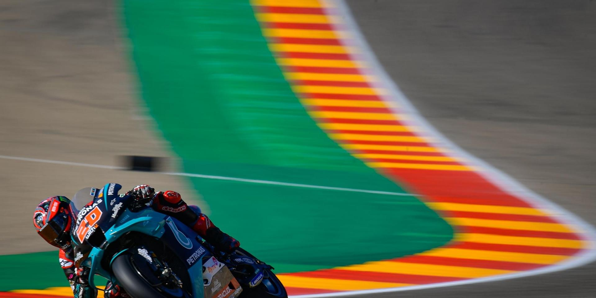 桿位發車最後一分未得大悲劇! Fabio Quartararo:胎壓太高讓我完全沒辦法做出圈速!