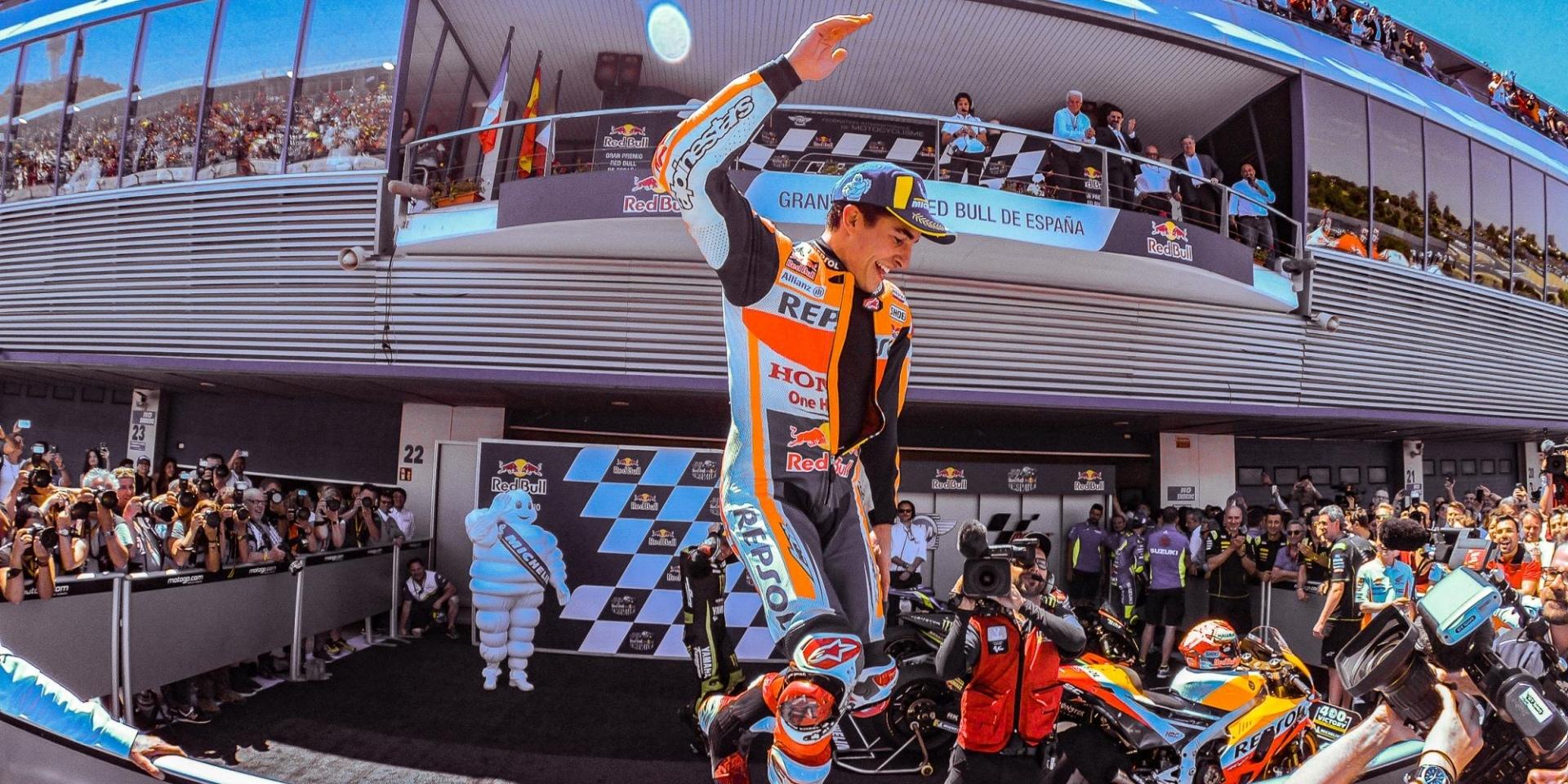 一馬當先!Marquez在西班牙Jerez站霸氣獨走奪冠!