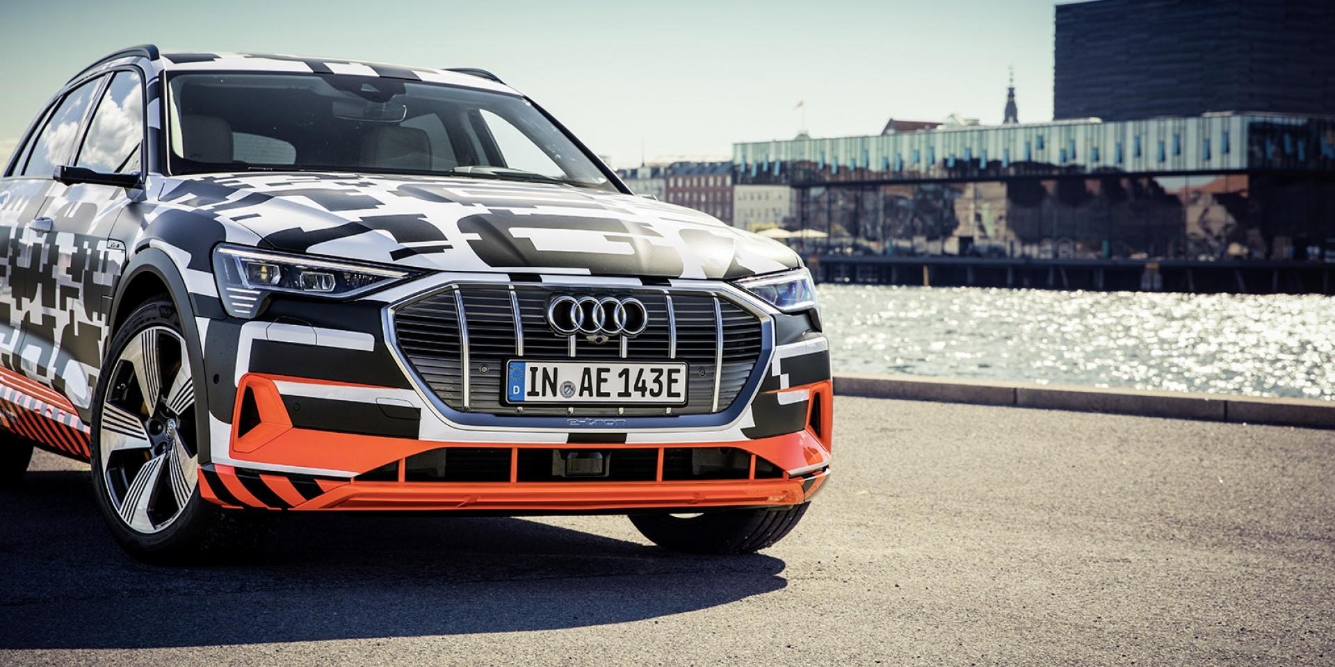 官方新聞稿。Audi e-tron prototype 內裝車艙首度展演 完美詮釋數位化駕乘想像