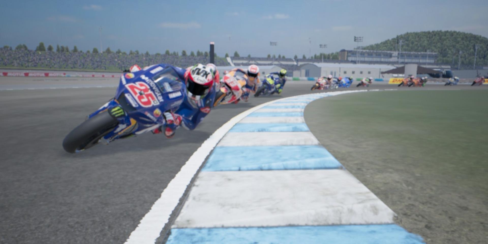 搖桿車手騎起來!一起用NINTENDO Switch體驗MotoGP18名賽道的魅力!