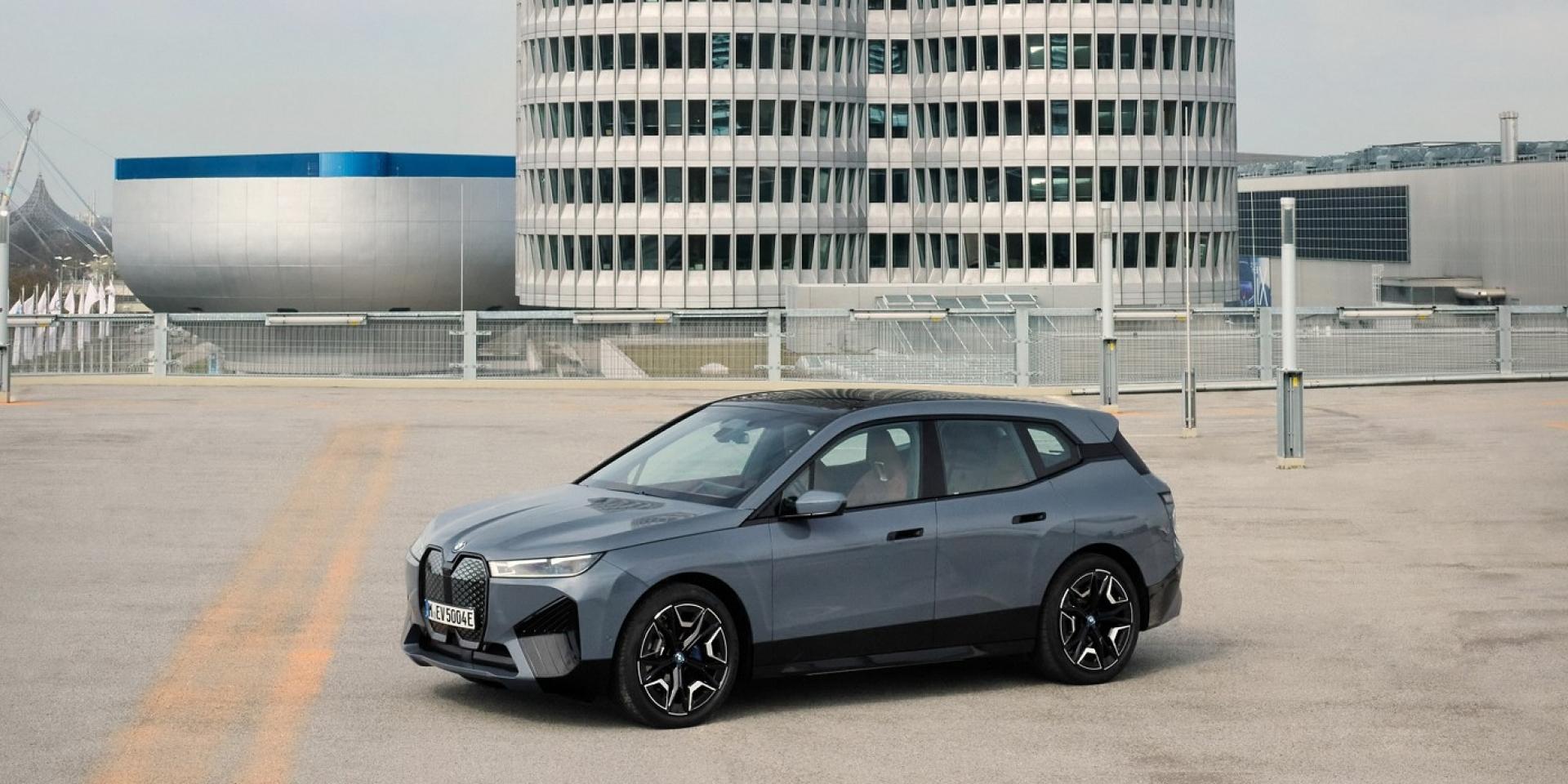 BMW iX xDrive50電動跑旅車,加速到百公里只需4.6秒