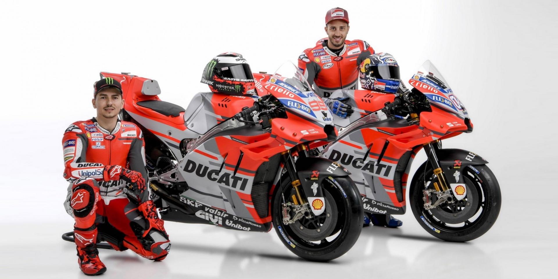 賽場上的紅鬃烈馬,Ducati Desmosedici GP18登場