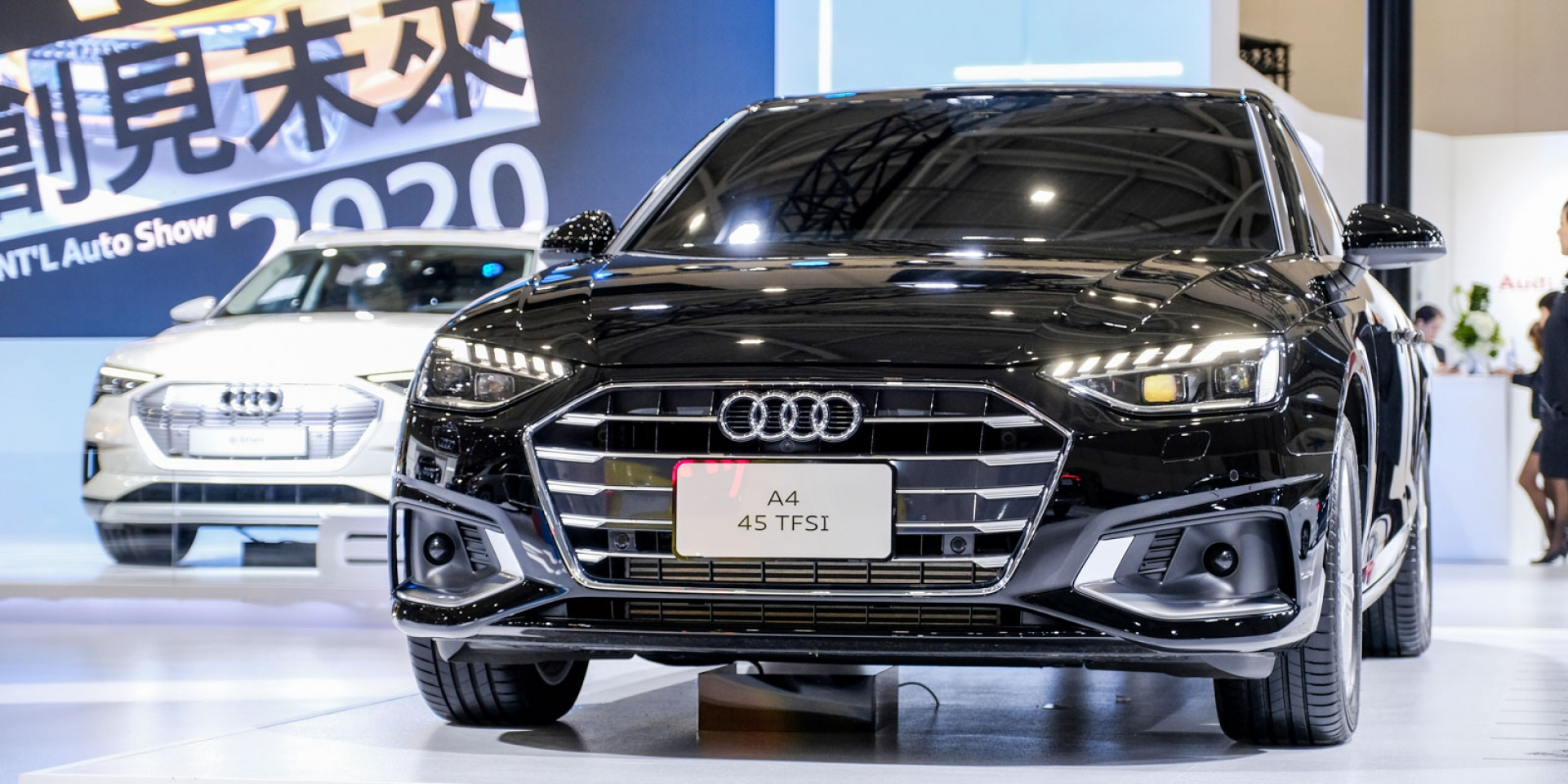 2020世界新車大展。Audi A1 125萬預售起跑,純電e-tron開放預購