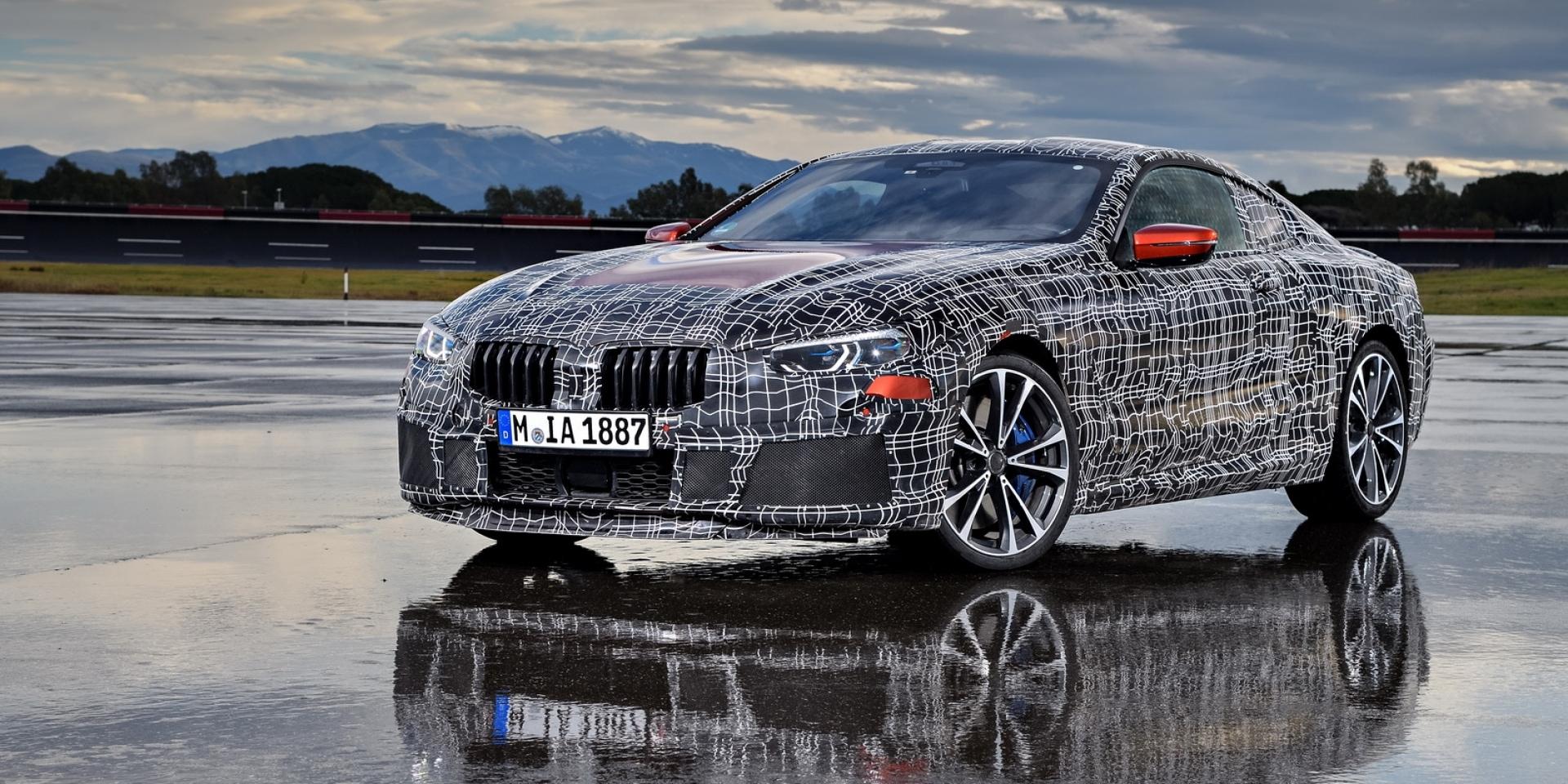BMW 8系列密集測試,M8與M8 GTE同步推出