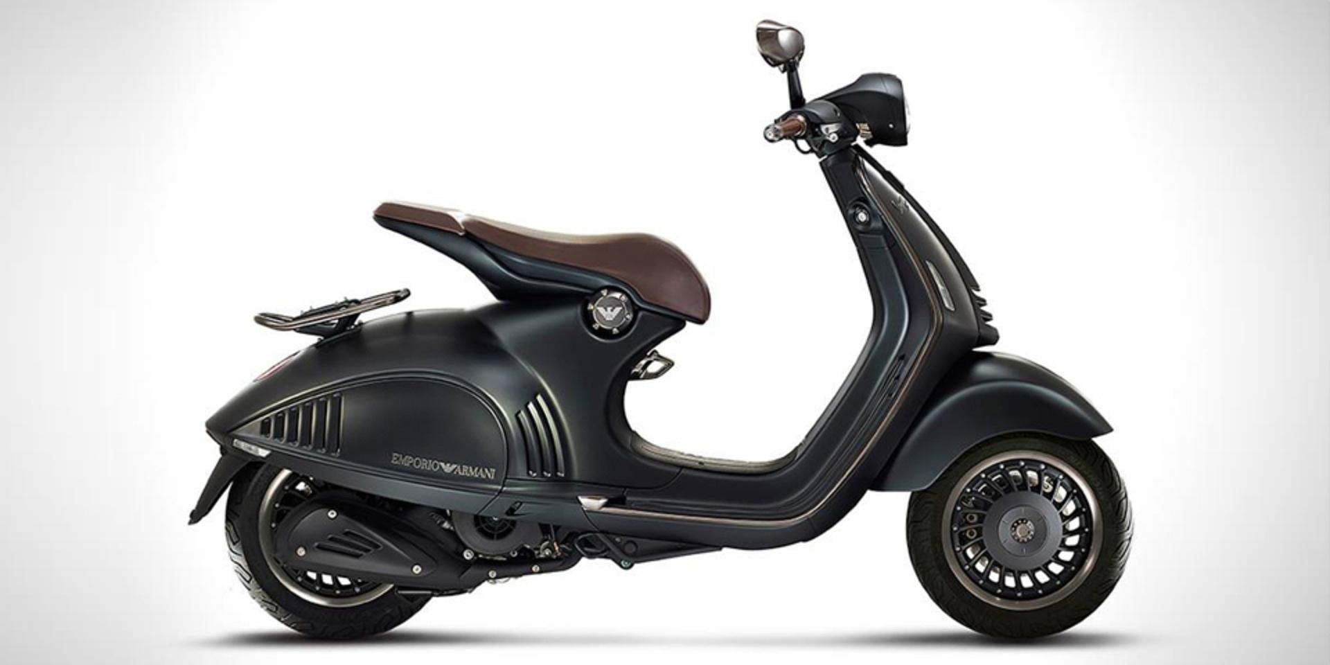哥騎的是時尚!ARMANI VESPA 946限量版發表