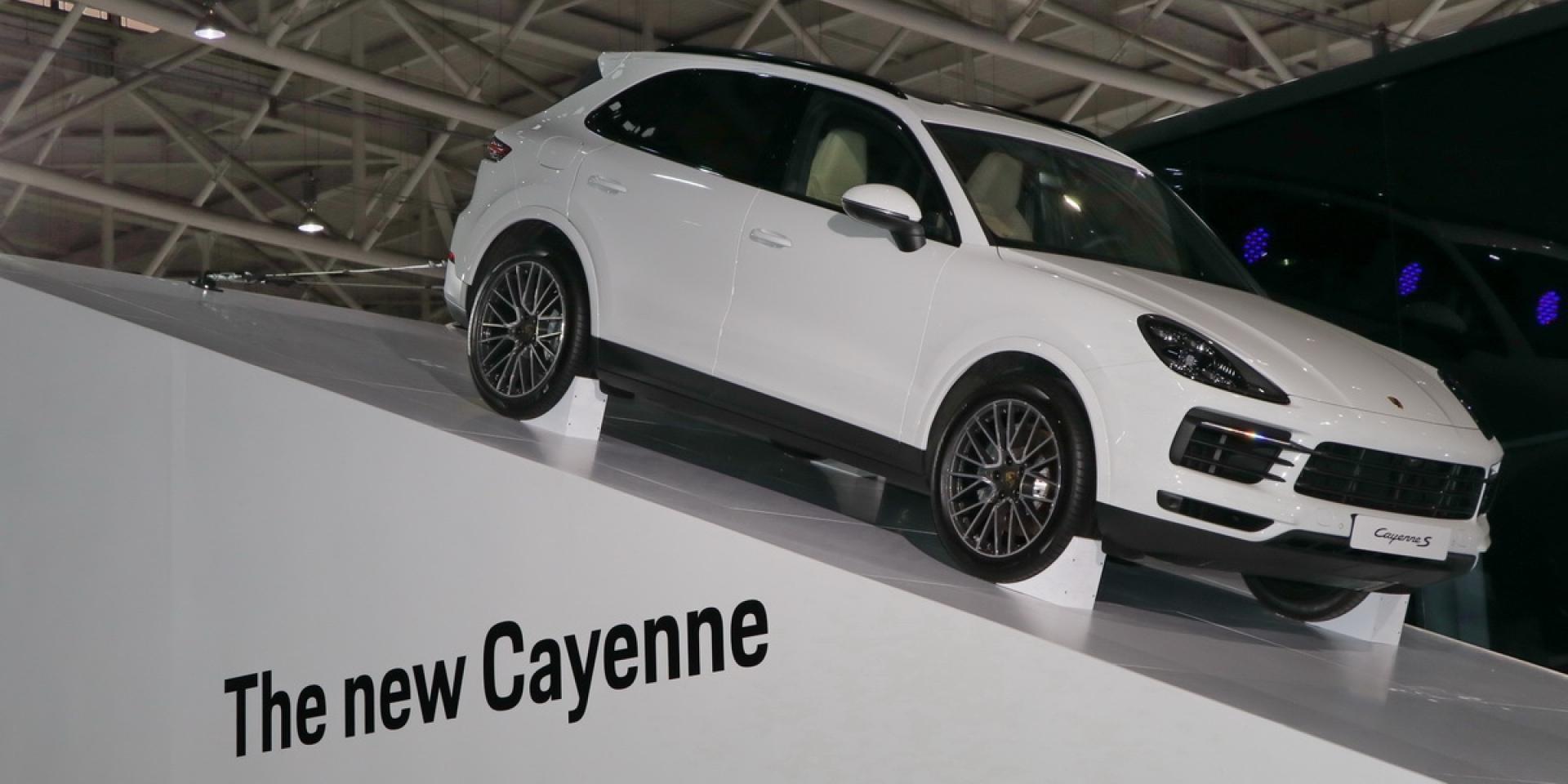 2018世界新車大展。Porsche Taiwan正式來台,全新Cayenne登場