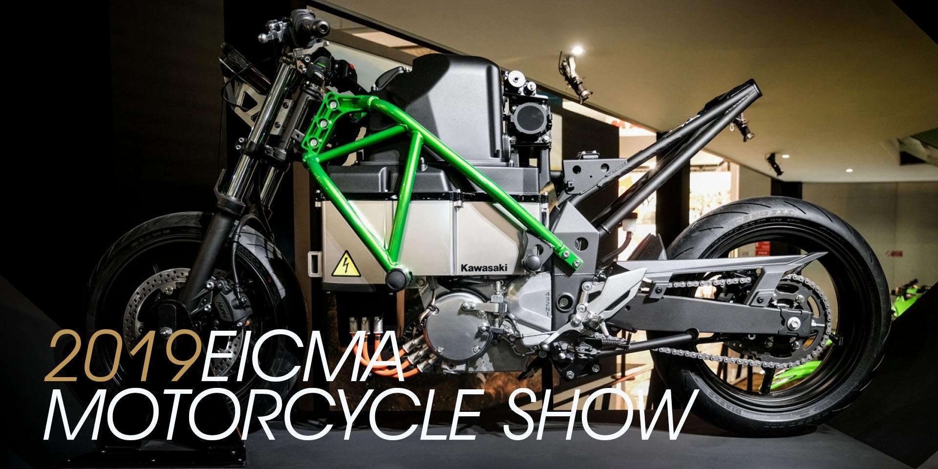 2019米蘭車展。「綠」電來襲?Kawasaki米蘭車展 EV Project