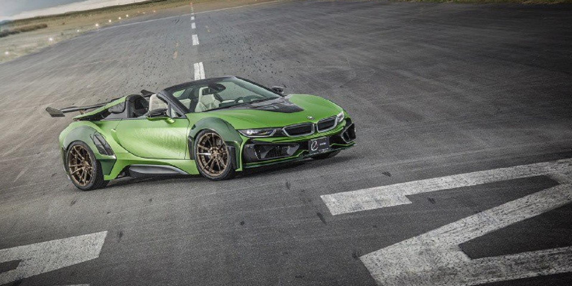 BMW i8硬起來,有史以來最殺的改裝套件