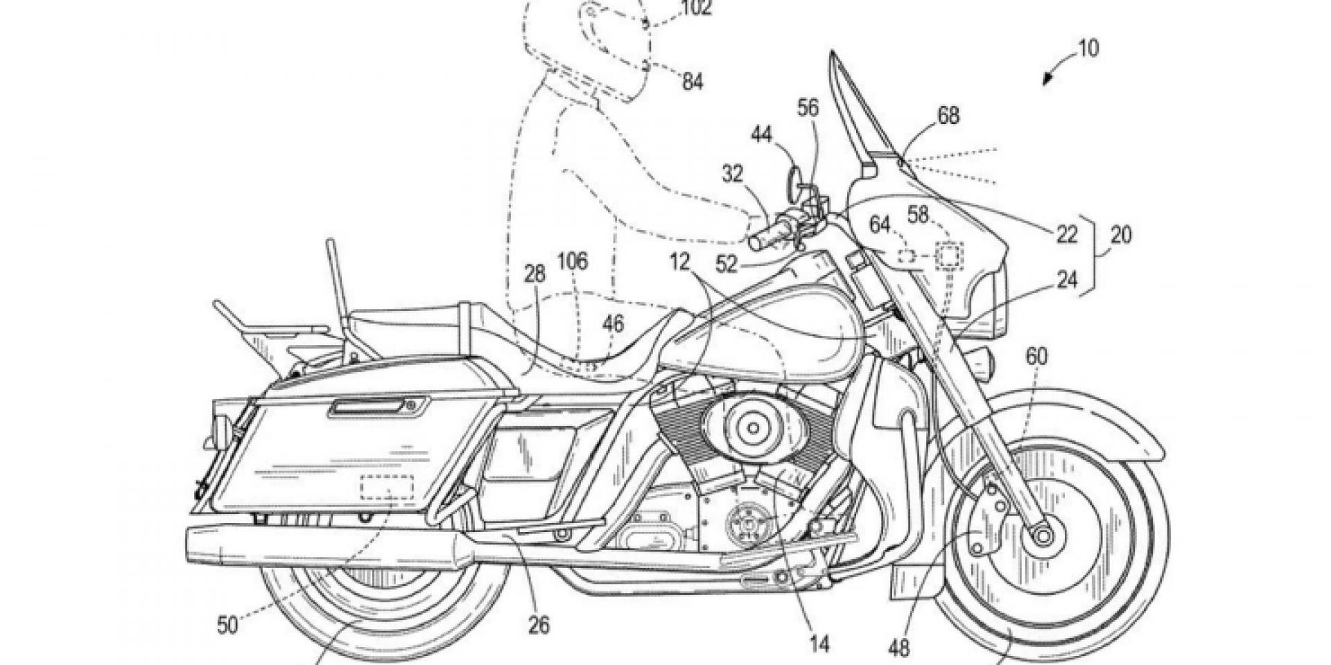 機車也有AEB!Harley-Davidson正在研發緊急煞車系統!