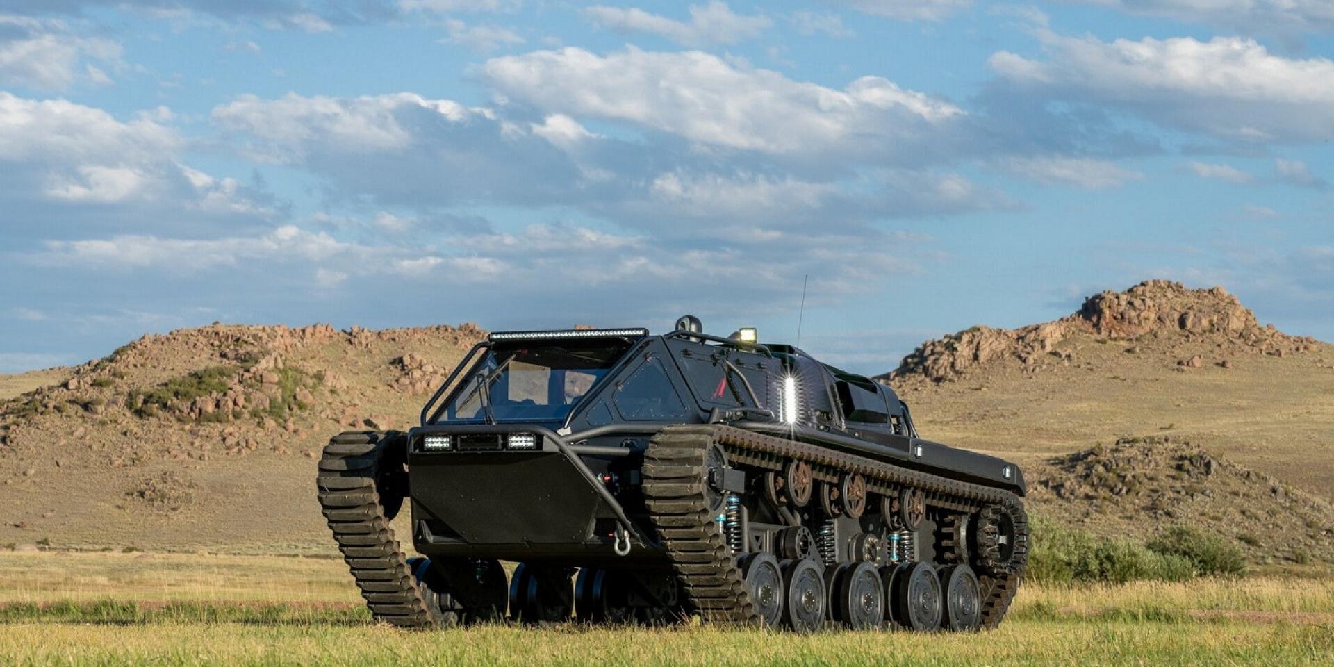 全地形坦克Ripsaw EV3-F4,現在開放競標