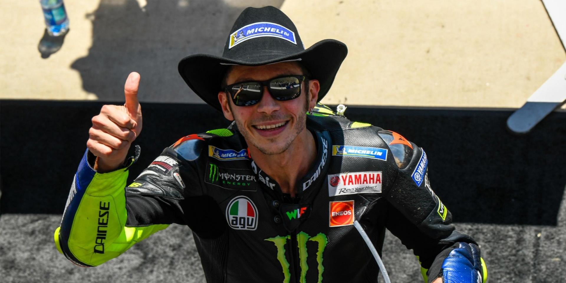 40而立!Rossi:「心情有點複雜!」0.462秒與生涯第90冠失之交臂。
