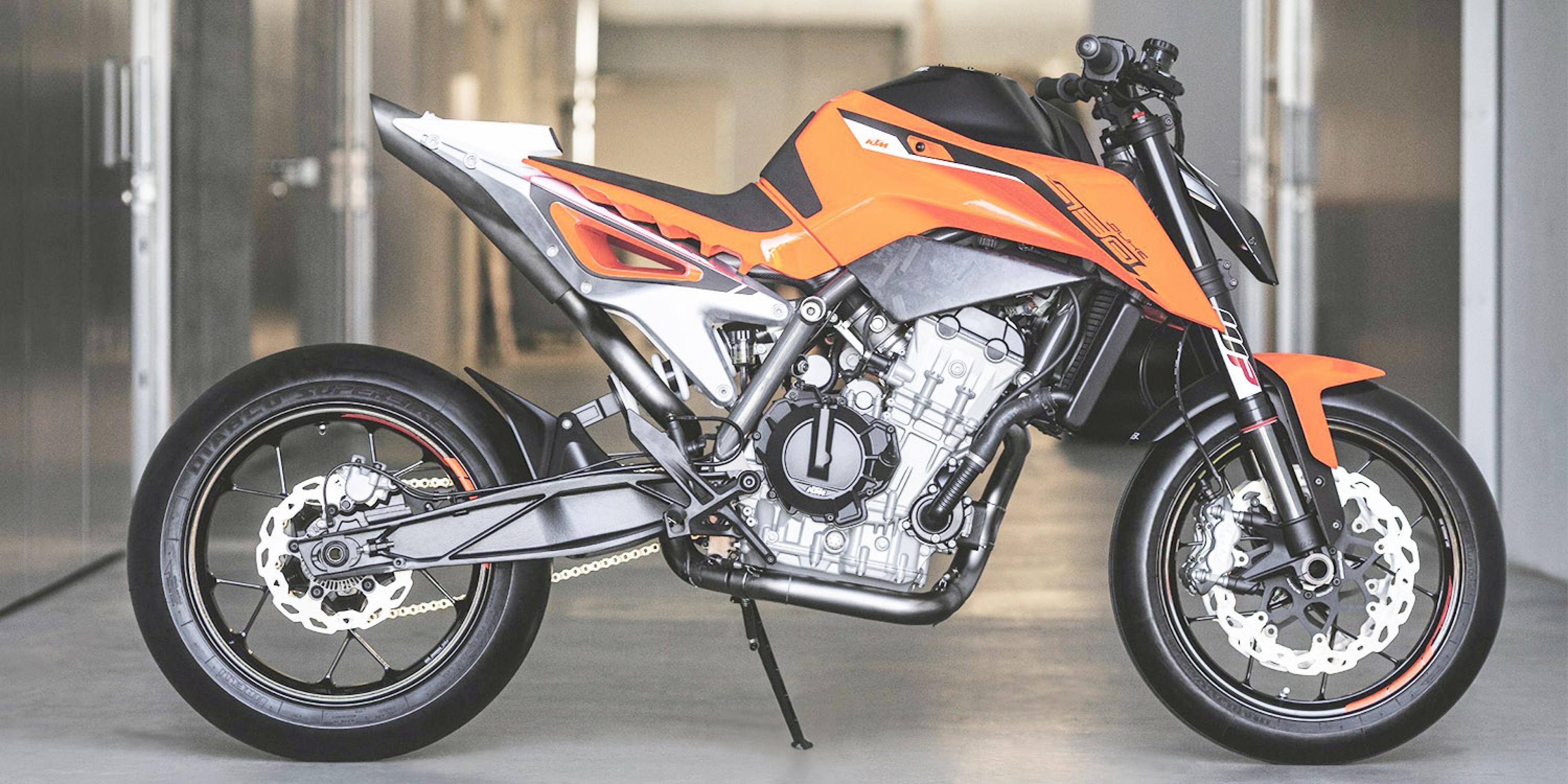 米蘭車展。德奧混血新世代猛虎KTM 790 DUKE Prototype