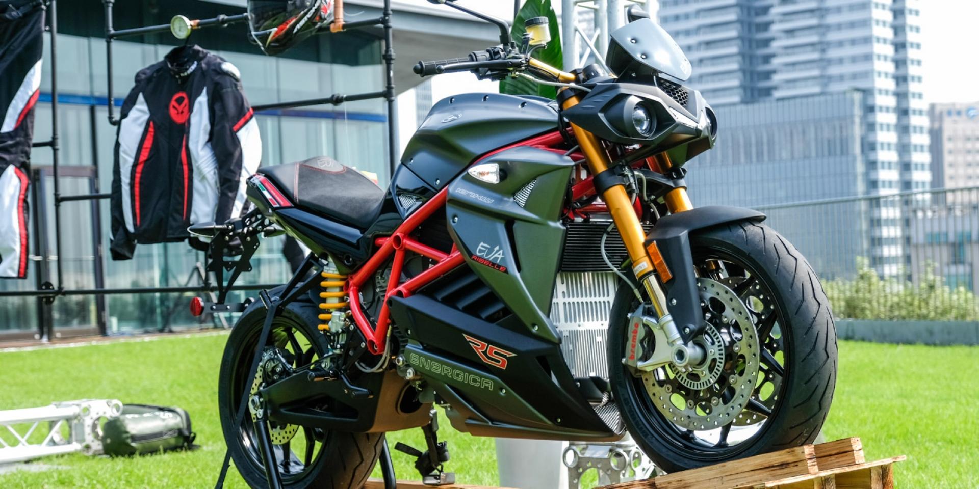 MotoE仿賽198萬元起!義大利ENERGICA正式登台,首波三車型導入
