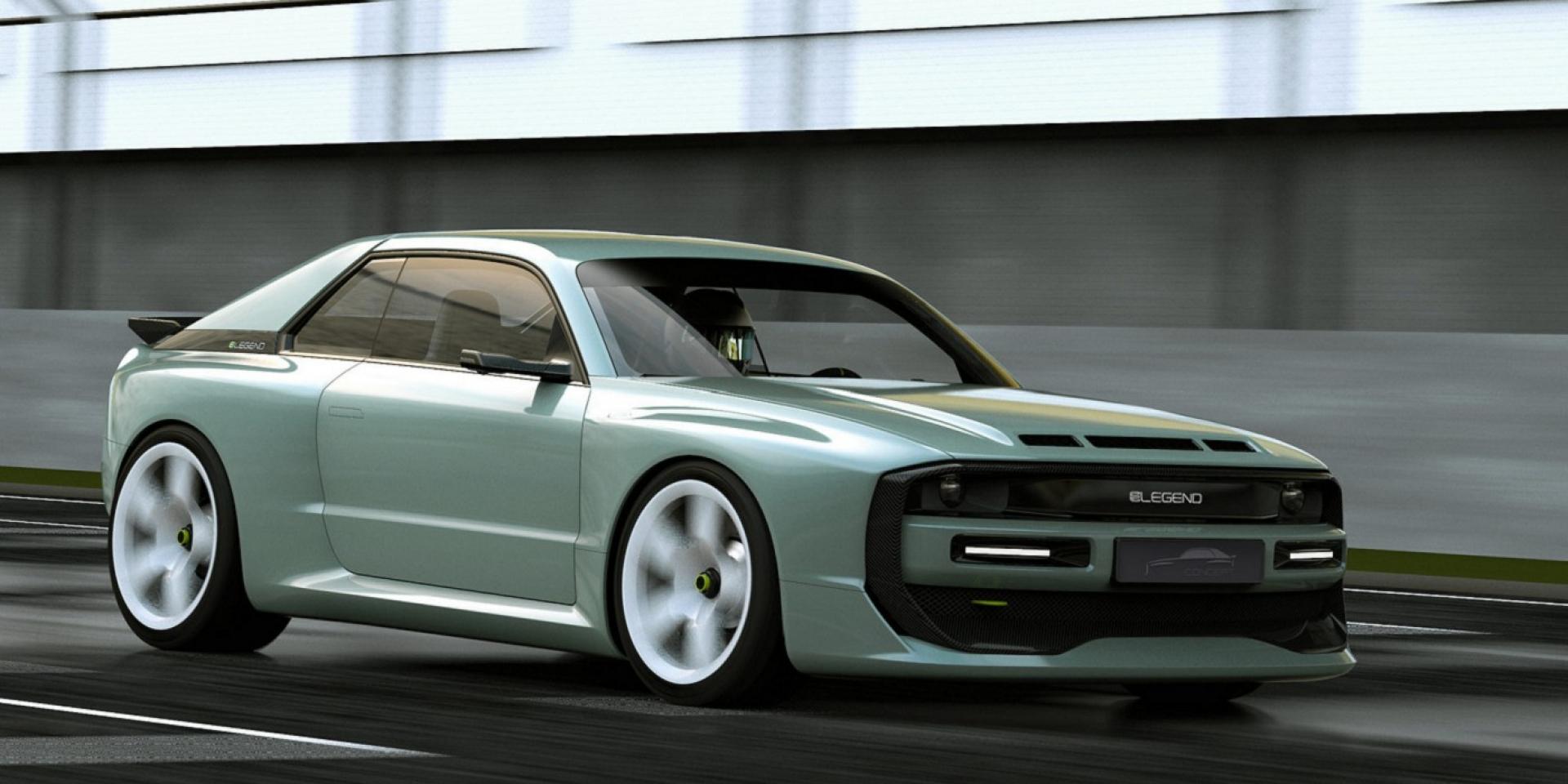 電動版Audi Sport quattro S1,ELEGEND EL1預計生產30台