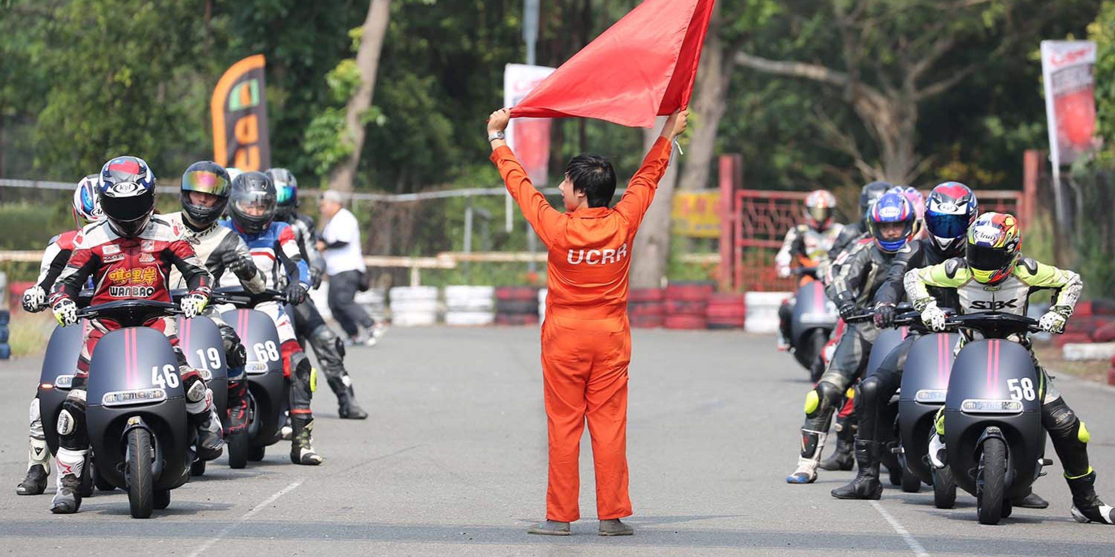 官方新聞稿。Gogoro 統規賽狂電登場。國內首見電動機車爭先賽,再寫台灣機車運動新紀錄