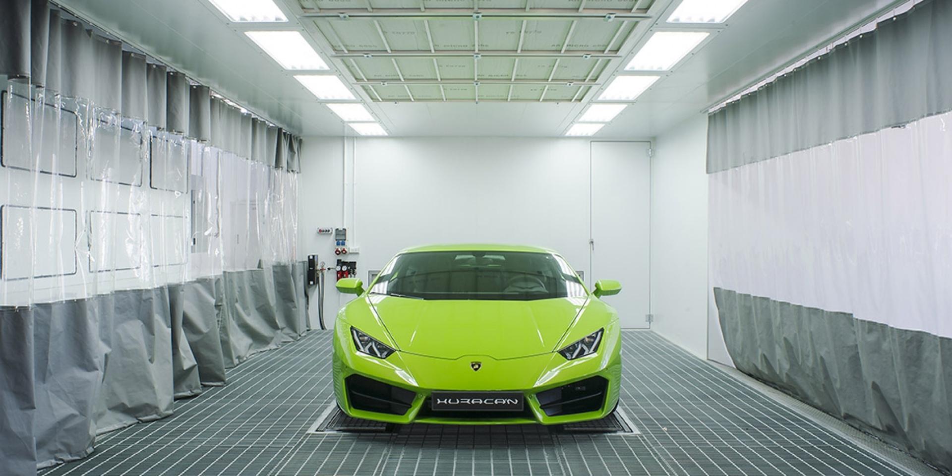 官方新聞稿。Lamborghini車體維修技術中心正式成立營運