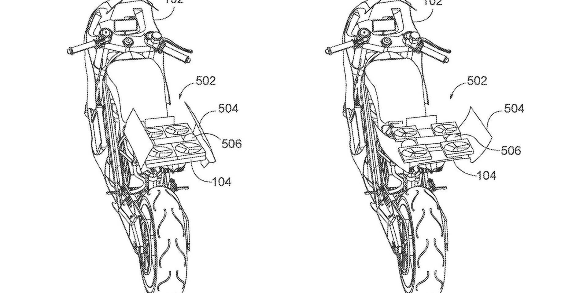 電動機車與無人機的結合!Honda全新專利曝光!