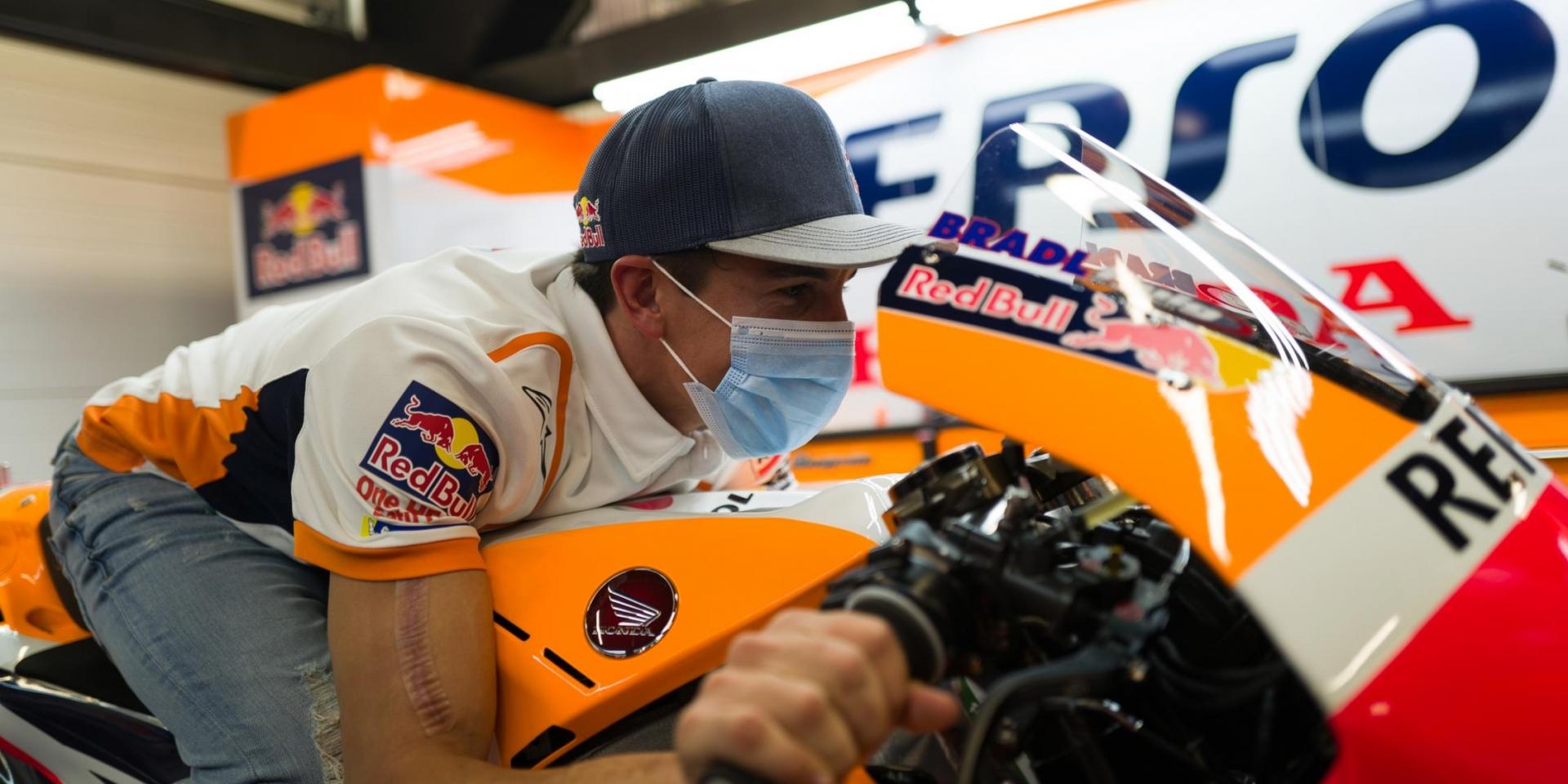 康復後唯一策略!Marc Marquez:當我回到我的車上,我只有選擇進攻!