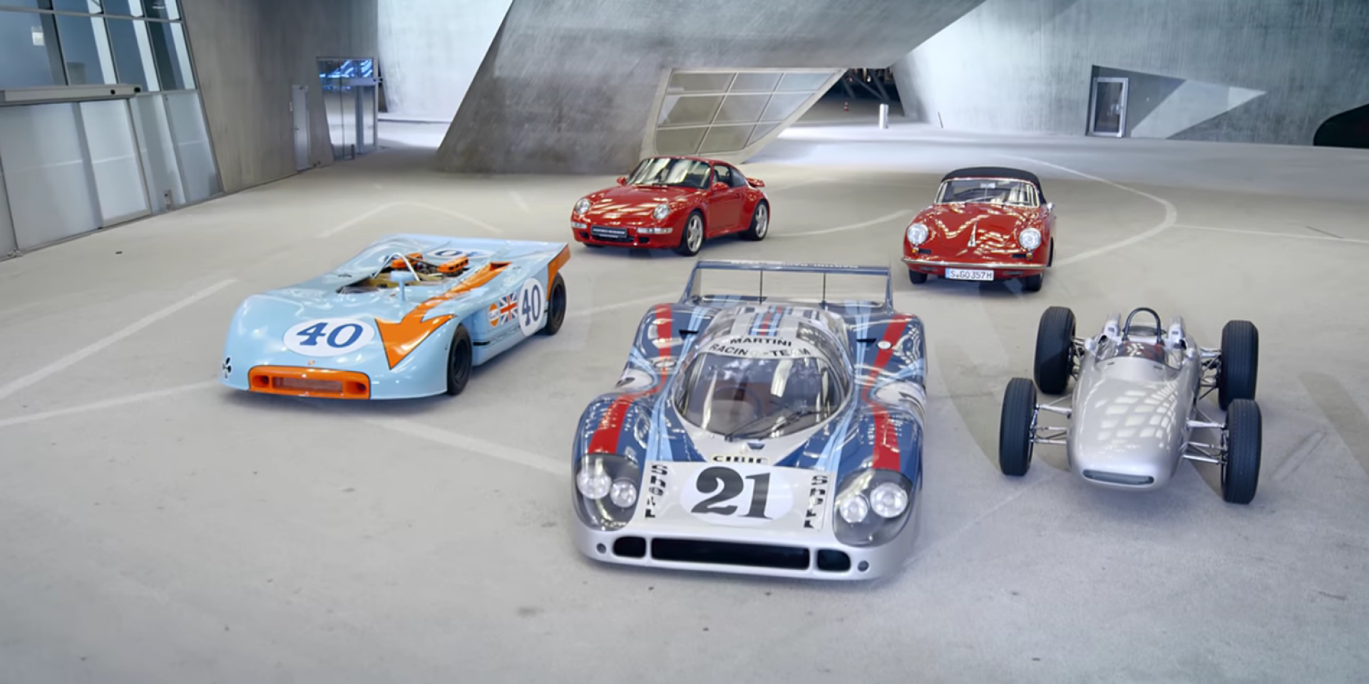 Porsche Top 5影片系列:最佳氣冷車
