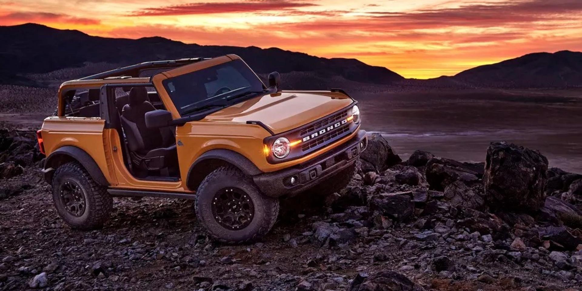 輪上扭力比Tesla Roadster還要強!Ford Bronco檔位解密!