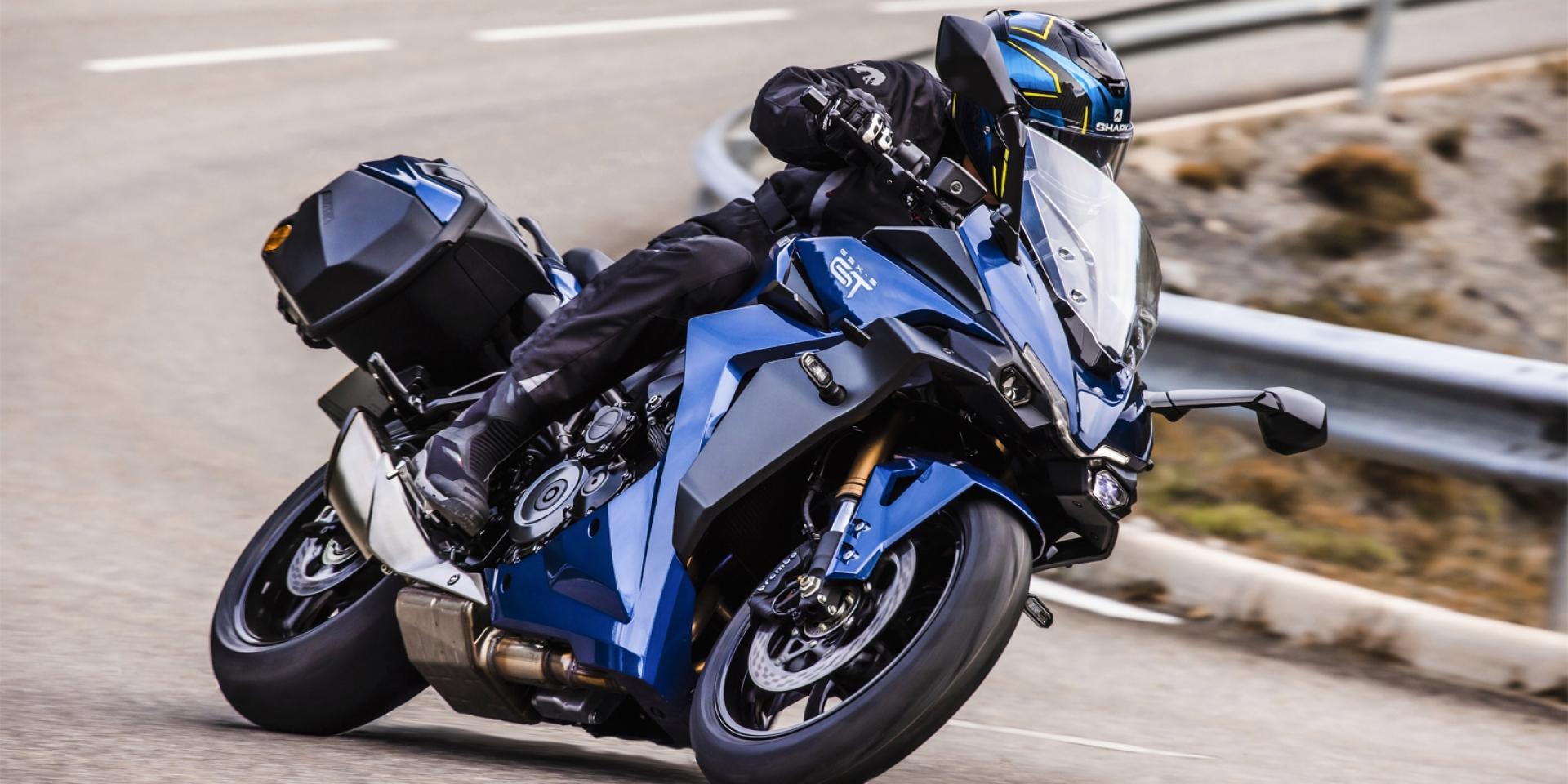 全彩儀表、手機連線導航加入!Suzuki GSX-S1000GT旗艦跑旅發表