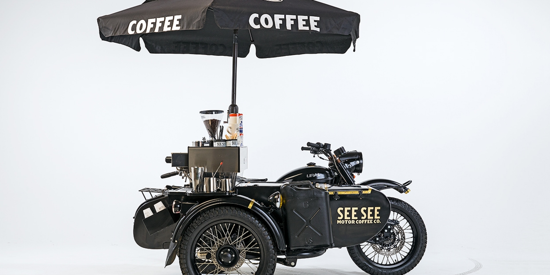 咖啡,車手 - THE URAL ESPRESSO by See See