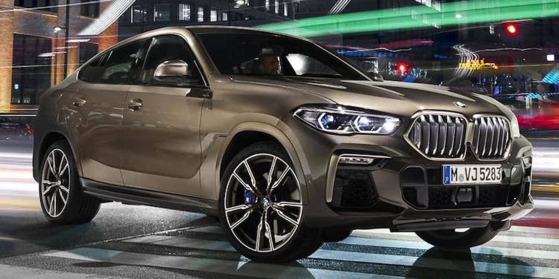 全新BMW X6無偽裝曝光!年底車展有望一親芳澤!