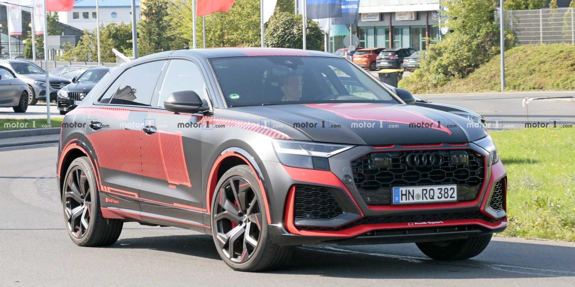 偽裝去除!Audi RS Q8即將到來!