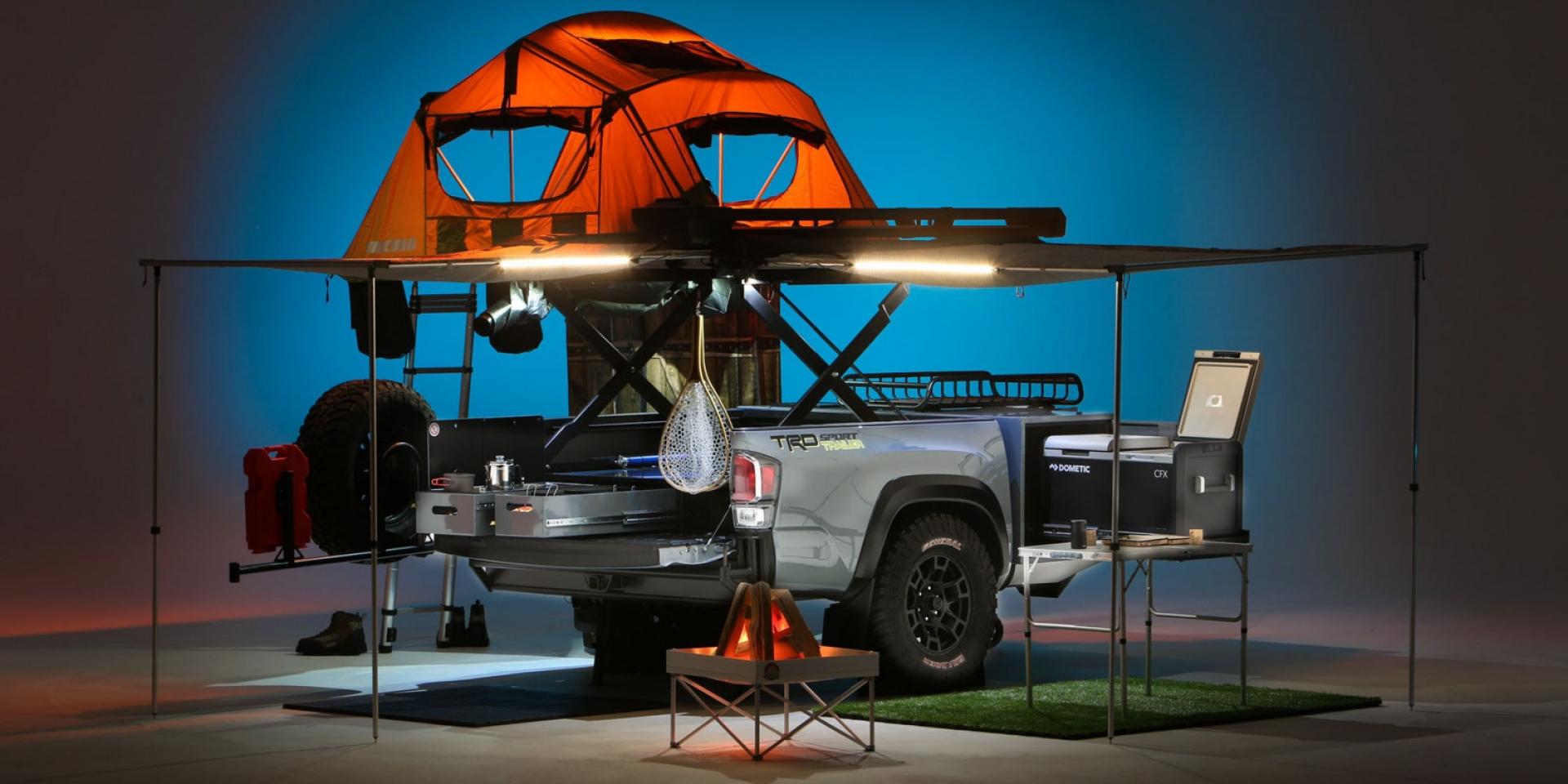 一車搞定露營所有設備!TOYOTA展示露營概念尾車「TRD Sport Trailer」