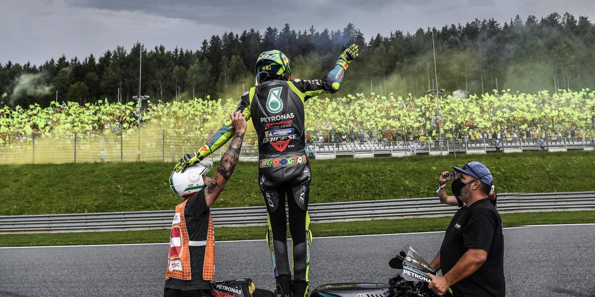 濕地光頭胎的最後決定!Valentino Rossi:我看到板子上打出P3,真是嚇死我了!