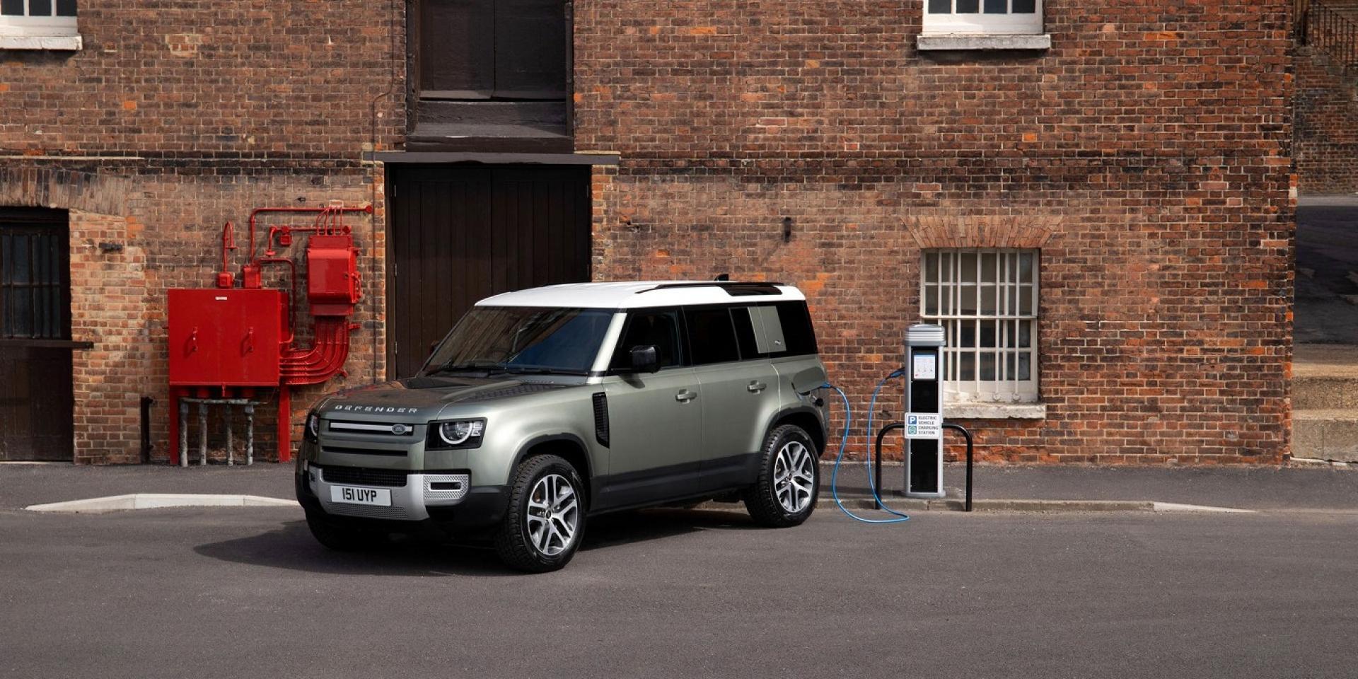 Land Rover Defender增加插電混合動力,台灣最快明年導入