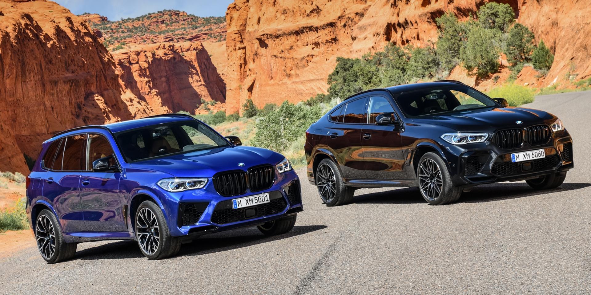 BMW X5 M、X6 M台灣接單價688萬元起,性能 空間皆備的暴力SUV