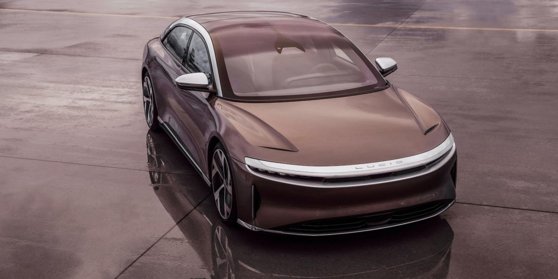 Lucid Motors推出Lucid Air電動車,擁有破千匹馬力