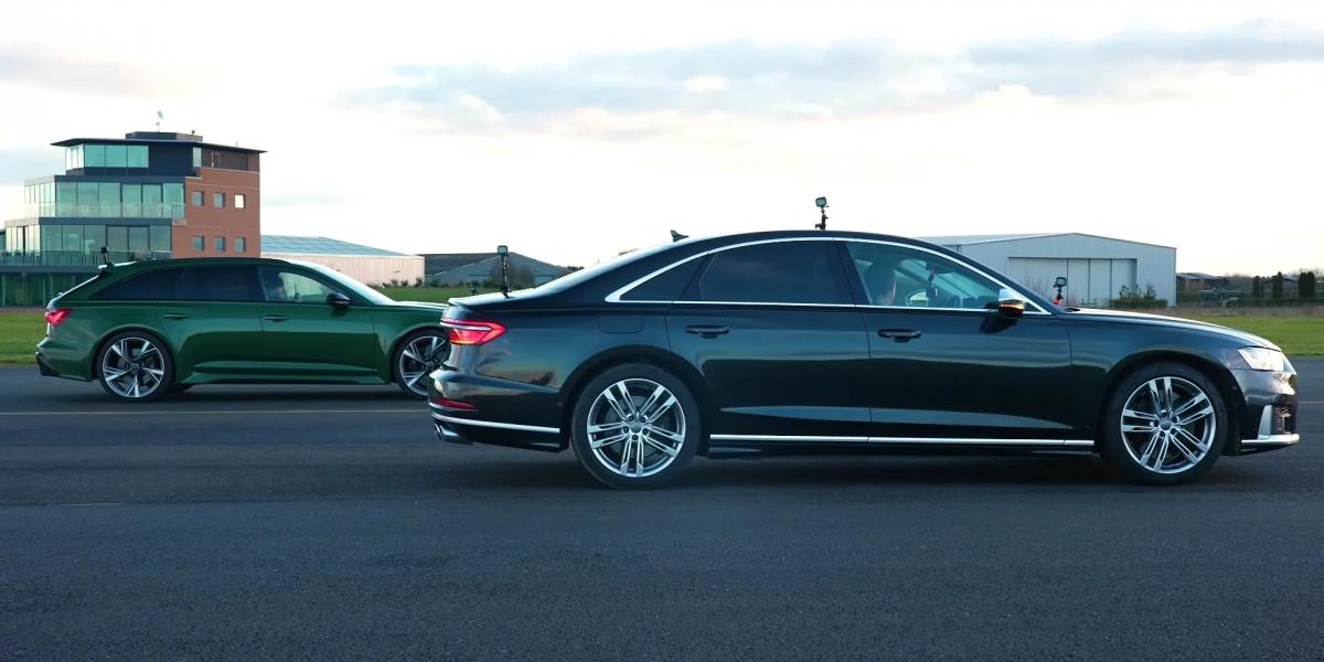 Audi RS6與S8性能大戰!S8加速更為亮眼!