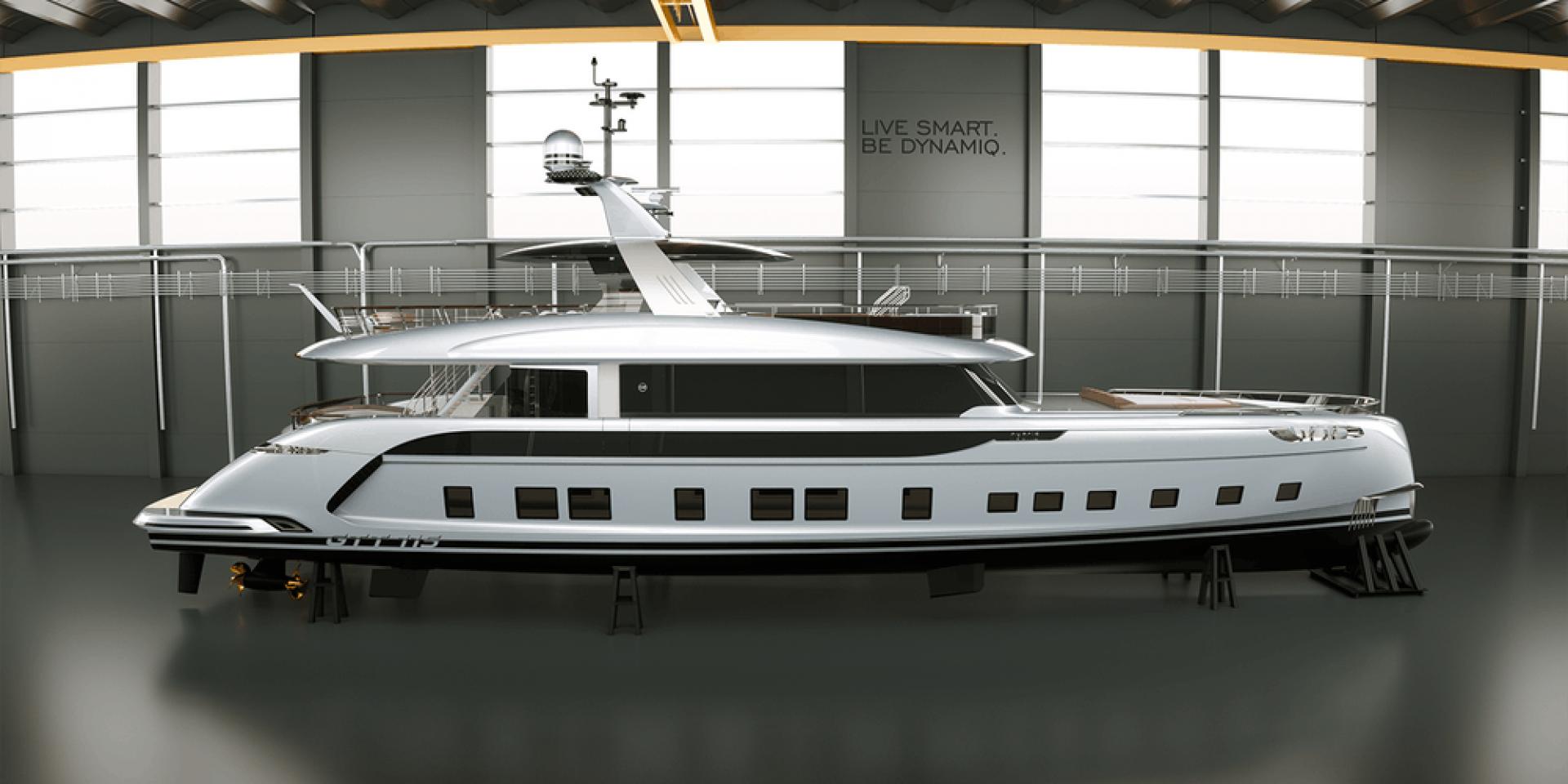 4億台幣的限量保時捷遊艇。DYNAMIQ GTT 115 HYBRID誕生