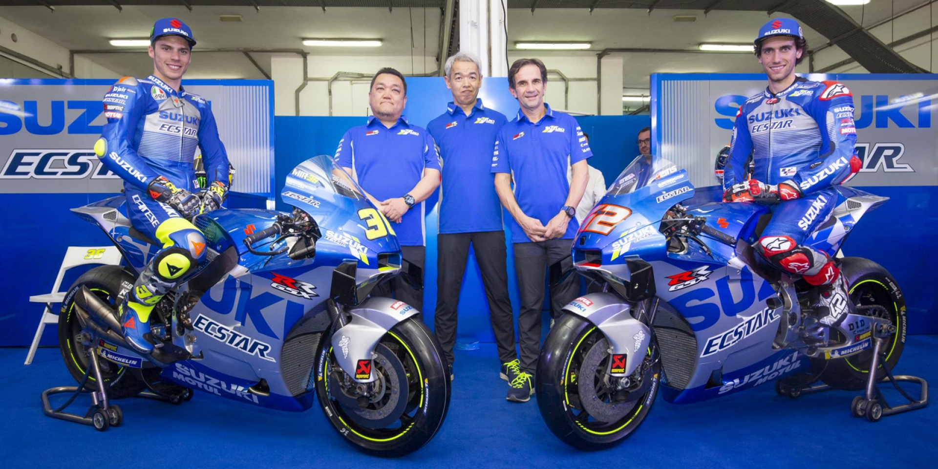 首勝的銀藍塗裝!SUZUKI Ecstar MotoGP Team 2020廠車亮相