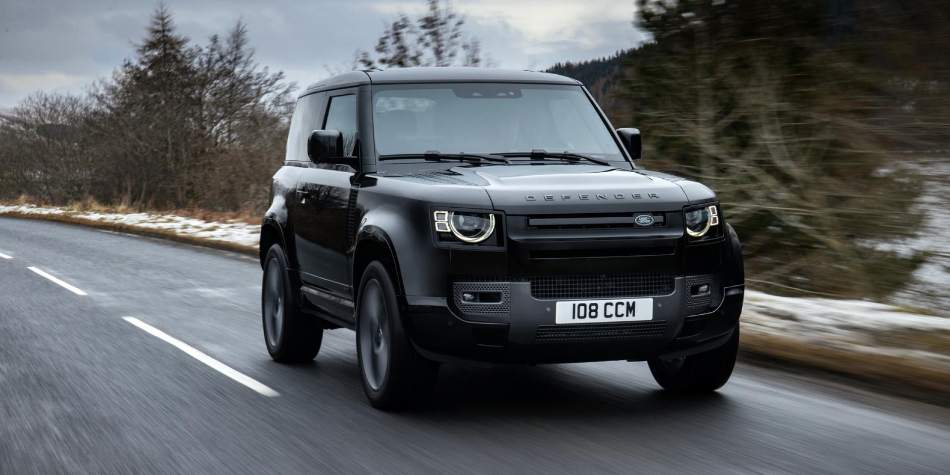 V8狂榨525hp!Land Rover Defender V8報到!