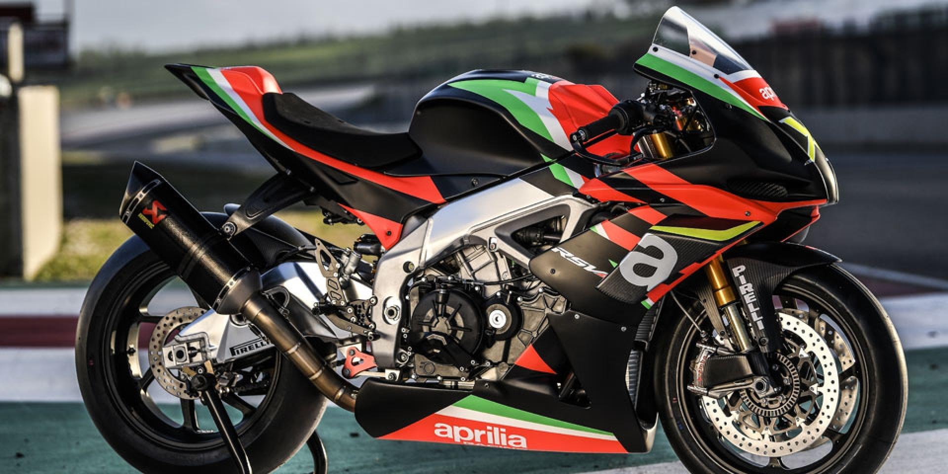 十週年超狂紀念限定版!225匹MotoGP塗裝APRILIA RSV4 X登場!