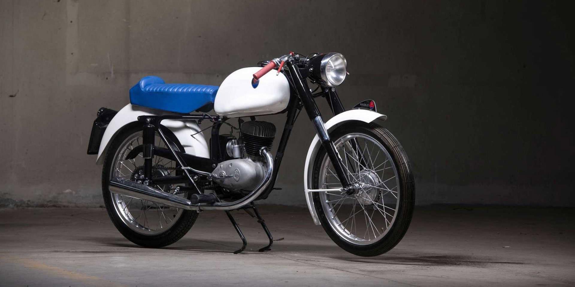 海神摩托車。Maserati 125 Tipo T2