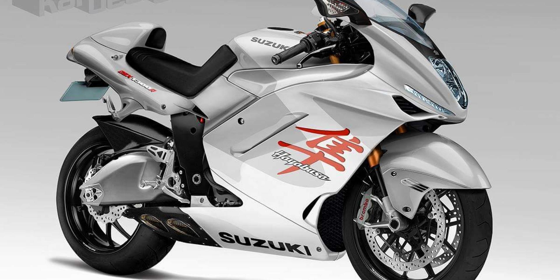 H2/R 勁敵出現!SUZUKI Hayabusa 將於明年搭載渦輪增壓系統