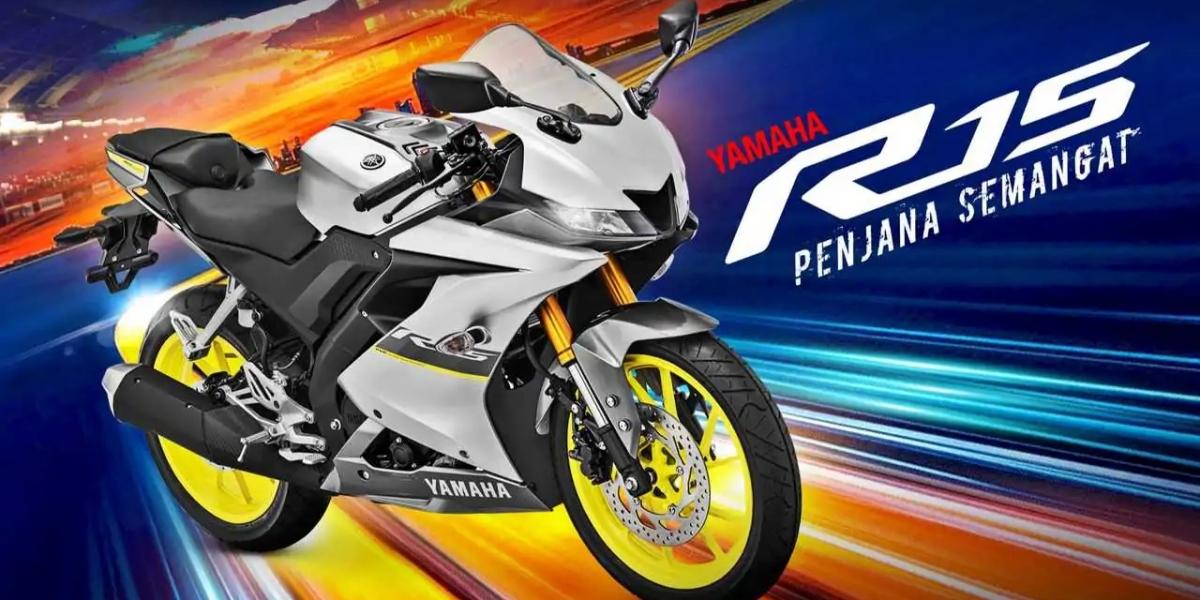 亮銀配螢光黃!Yamaha YZF-R15 新色馬來西亞亮相