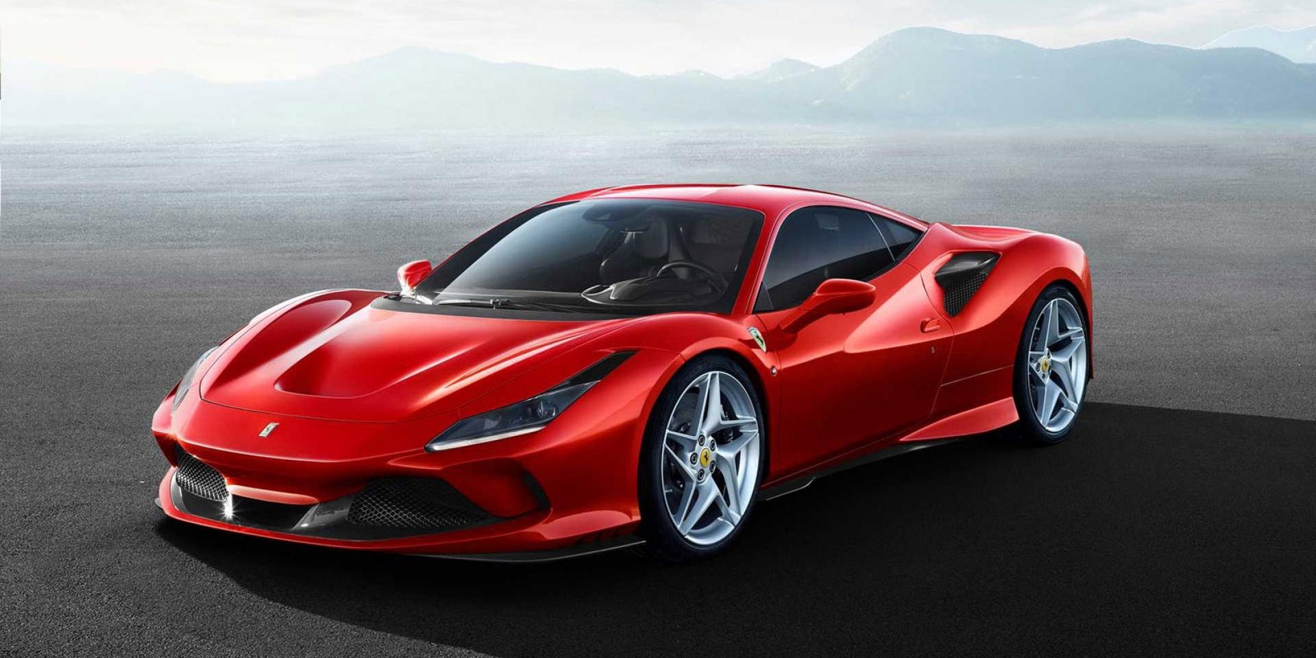 四圓尾燈回歸,Ferrari F8 Tributo定裝照發布