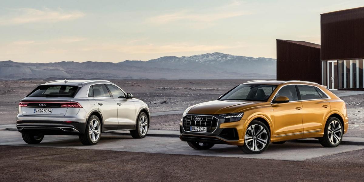 官方新聞稿。四環豪華休旅旗艦耀眼乍現 全新Audi Q8正式上市