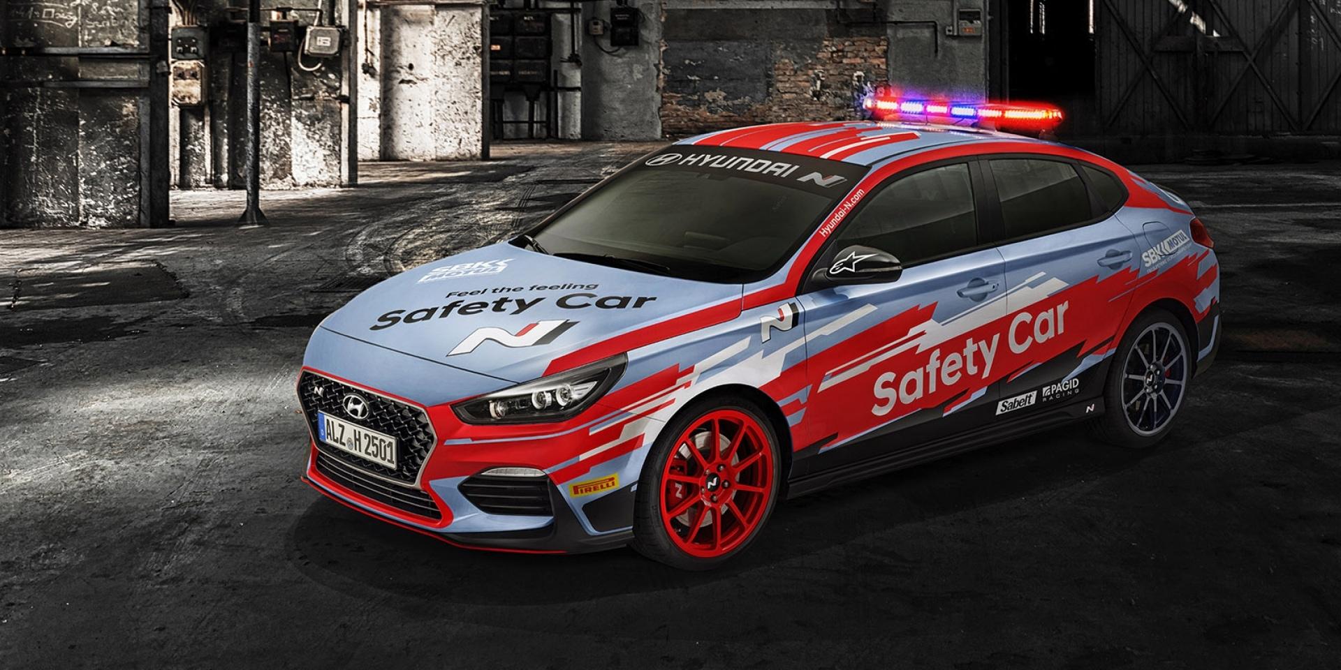 Hyundai現身WSBK?Hyundai i30 Fastback N將擔任2019年WSBK賽事安全車