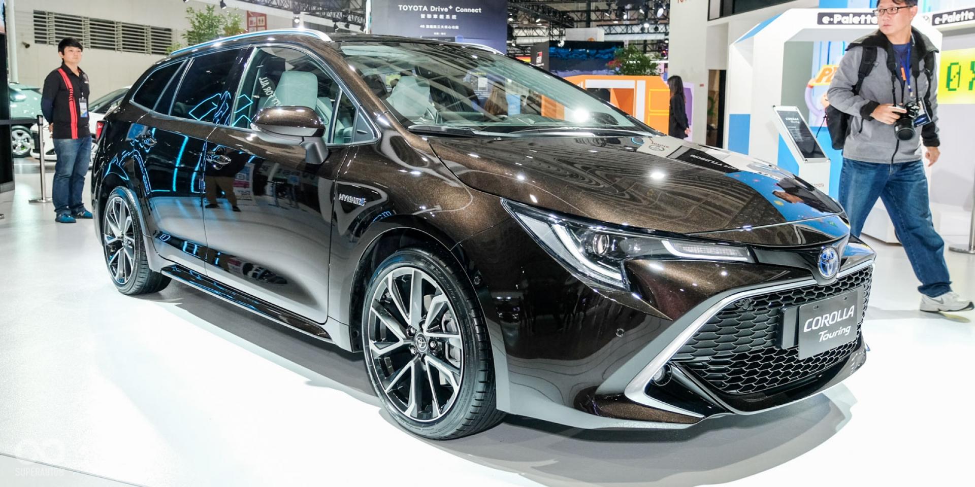 2020世界新車大展。Toyota Corolla Touring Sports、Altis GR Concept同步現身!