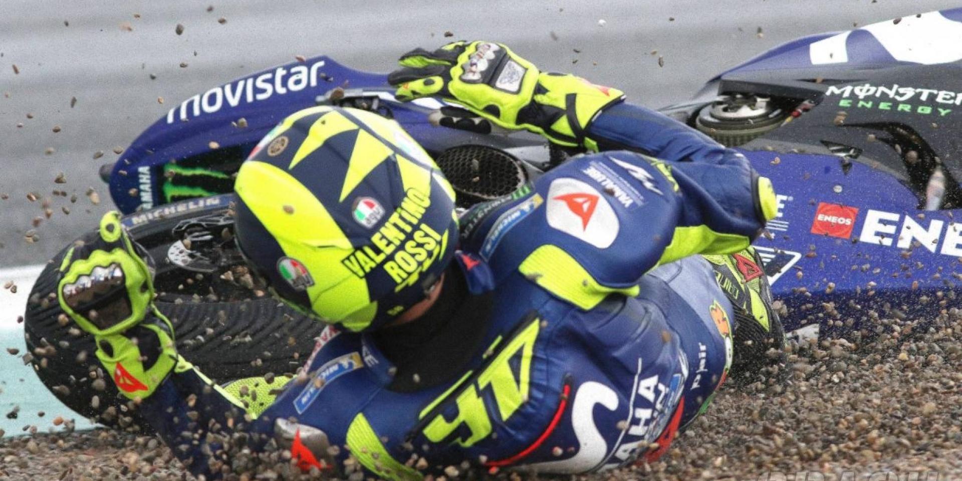 封關站的遺憾!Valentino Rossi:非常,非常可惜。